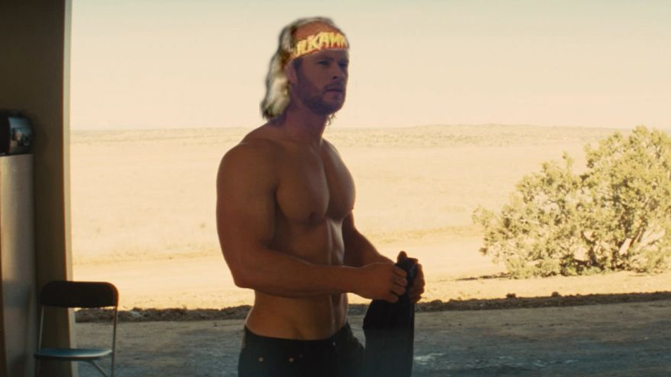 Chris Hemsworth Gives an Update on That Hulk Hogan Movie He's Starring In