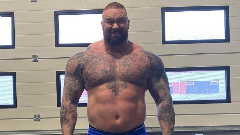 Watch The Mountain from 'Game of Thrones' Break the World Record for Deadlift